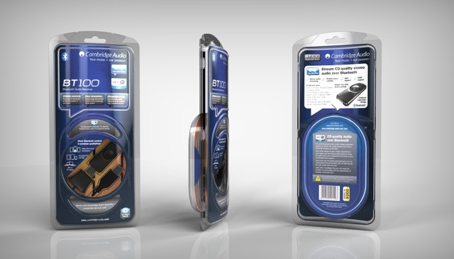 Cambridge Audio - Bluetooth dongle in blister packaging