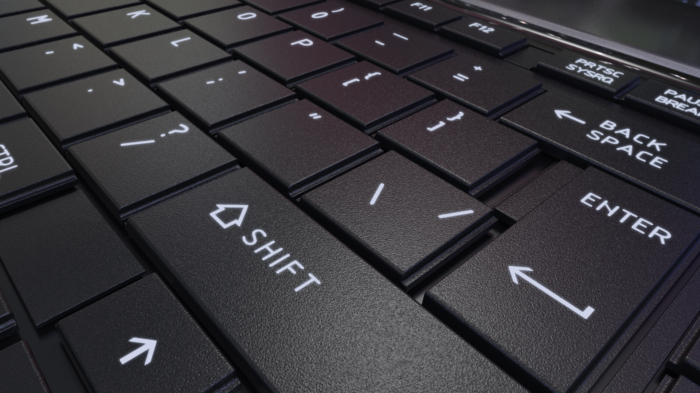 Glowing Keyboard crop