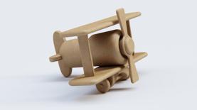 KSCloudLibrary_AxF_ToyPlane_Cardboard