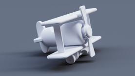 KSCloudLibrary_AxF_ToyPlane_PrintPaper