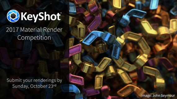 Announcing: The 2017 KeyShot Render Competition
