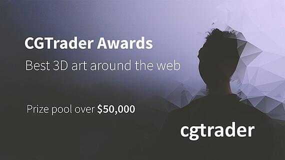 Showcase Your Sci-fi and Character Artwork in the 2017 CGTrader Awards